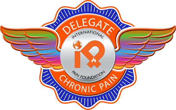 CHRONIC PAIN ipain badge