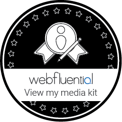 webfluential media kit barby ingle