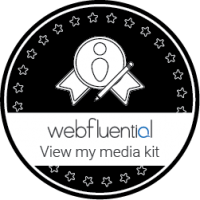 webfluential media kit barby ingle